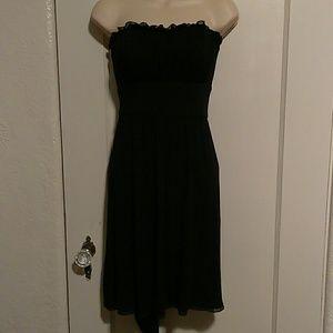 Betsey Johnson l Black strapless dress. Size S
